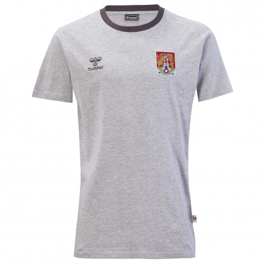 Northampton Town Staff Travel Cotton Adult T-Shirt