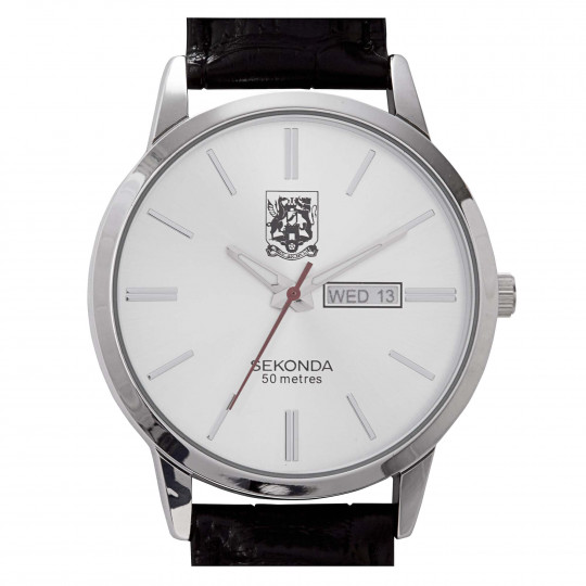Northampton Town Mens Leather Strap Watch