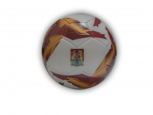 Northampton Town White/Claret Football Size 5