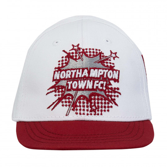 Northampton Town White Script Infant Cap