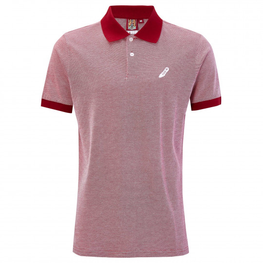 Northampton Town Wide Textured Mens Polo Shirt