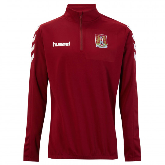 Northampton Town Matchday 1/2 Zip Junior Sweat