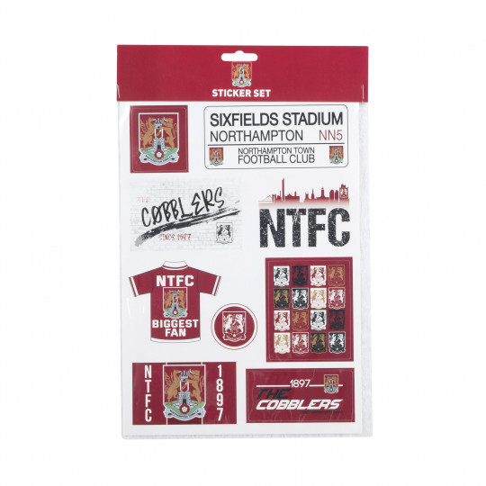 Northampton Town Sticker Pack
