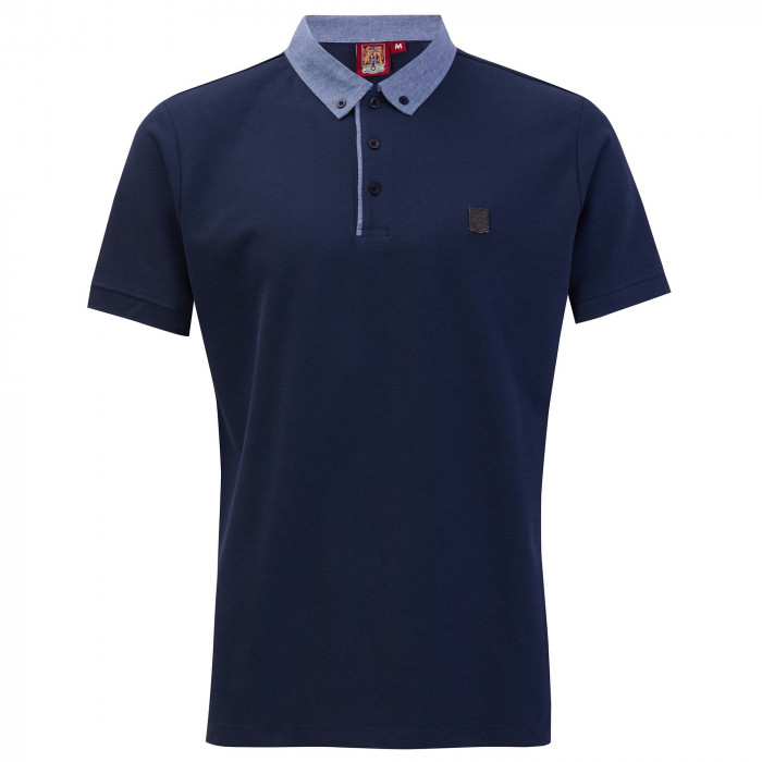 NHT Chambray Contrast Polo Shirt
