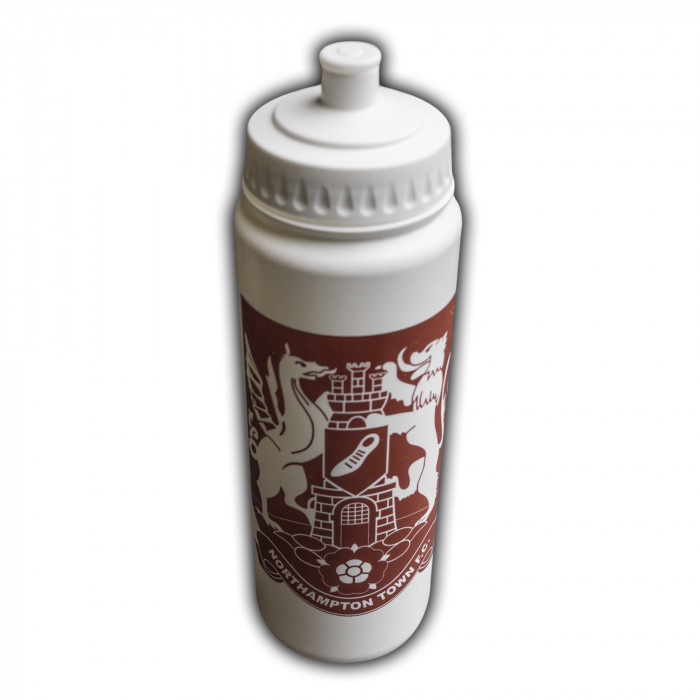 Northampton Town Essential White Water Bottle