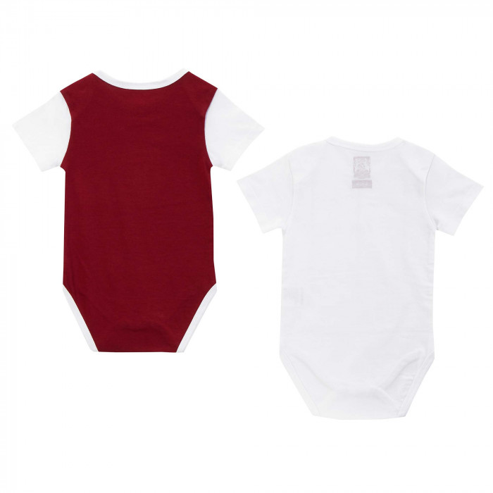 Northampton Town Infant Home & Away Kit Bodysuit S